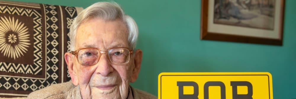 Super-Ager Briton, 111, is the world's oldest man